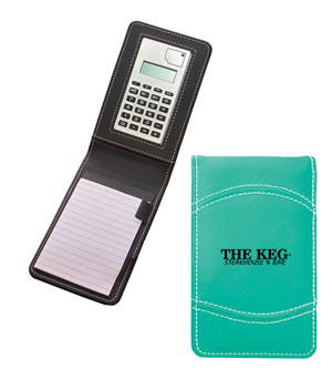 Notepad with Calculator Special - $4.50